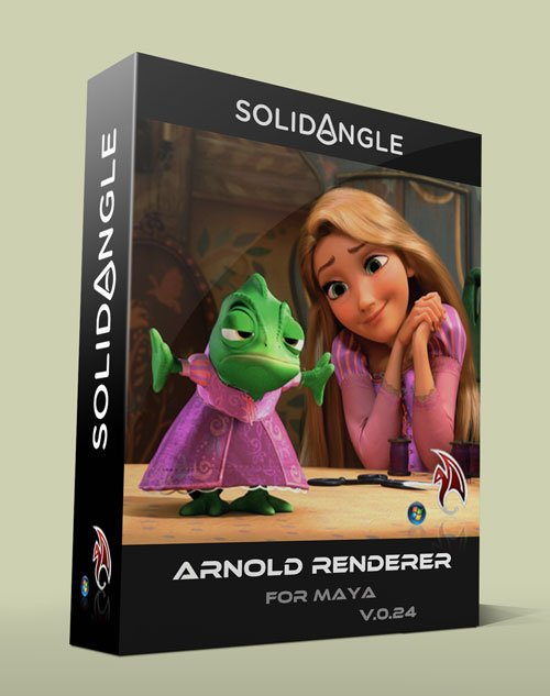 SolidAngle Maya To Arnold (MtoA) v0.24 For Maya 2012 – 2014 x64bit Win
