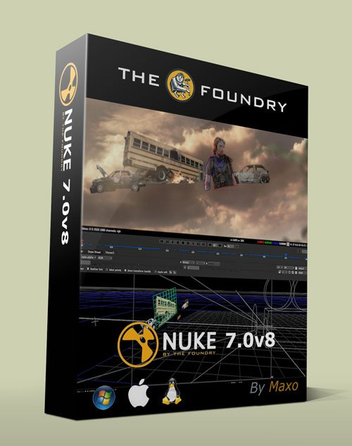 The Foundry NUKEX 7.0v8 Win/Mac/Linux