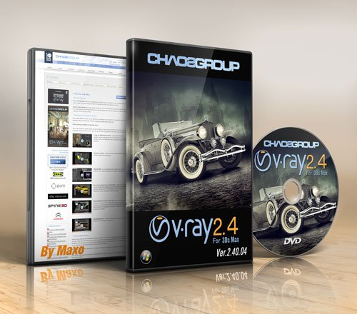 V-Ray 2.40.04 for 3ds Max 2014 – x64bit Win