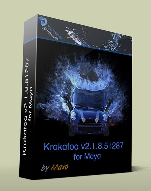 Thinkbox Krakatoa MY v2.1.8.51287 for Maya 2011 – 2014 x64bit Win