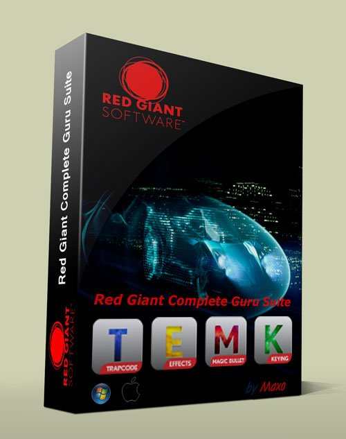 Red Giant Complete Guru Suite 2013 for Adobe CC WiN/MacOSX