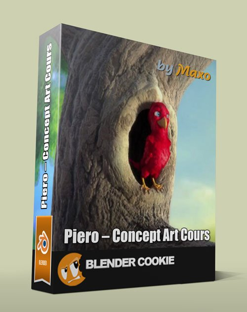 CGCookie Creating Piero Complete Production Course