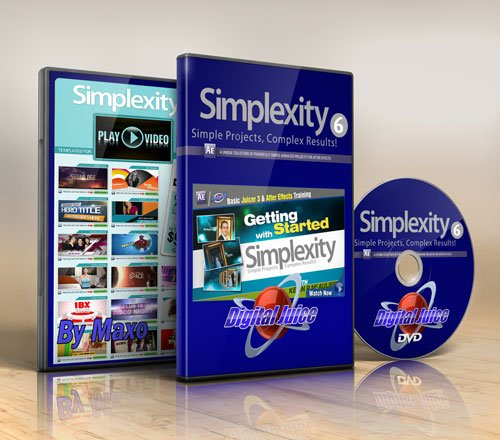 Digital Juice – Simplexity Collection 6 for After Effects