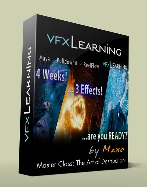 VFXlearning – Master Class: The Art of Destruction