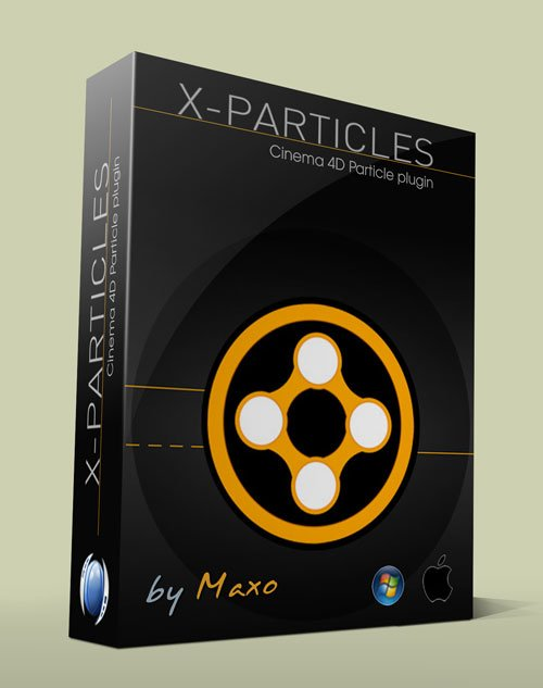 X-Particles v2 For Cinema 4D Win/Mac