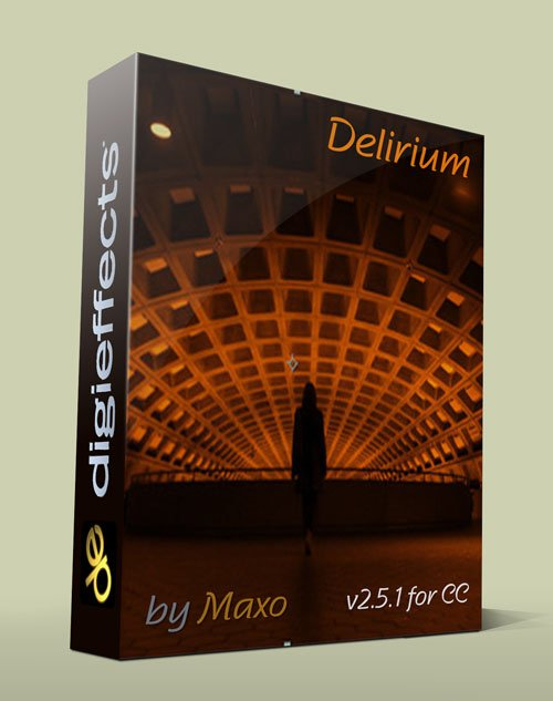 Digieffects Delirium v2.5.1 for CC – x64bit Win