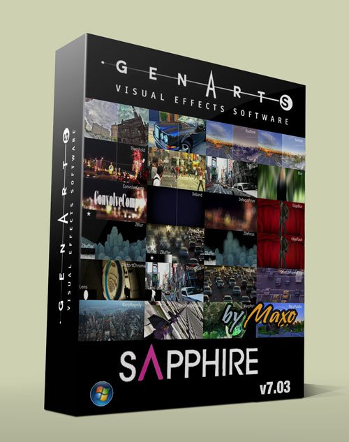 Genarts Sapphire v7.03 for After Effects CC – x64bit Win