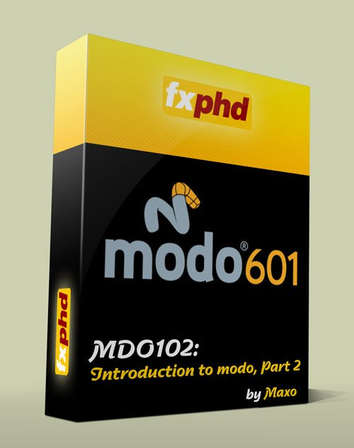 fxphd - MDO102: Introduction to modo, Part 2