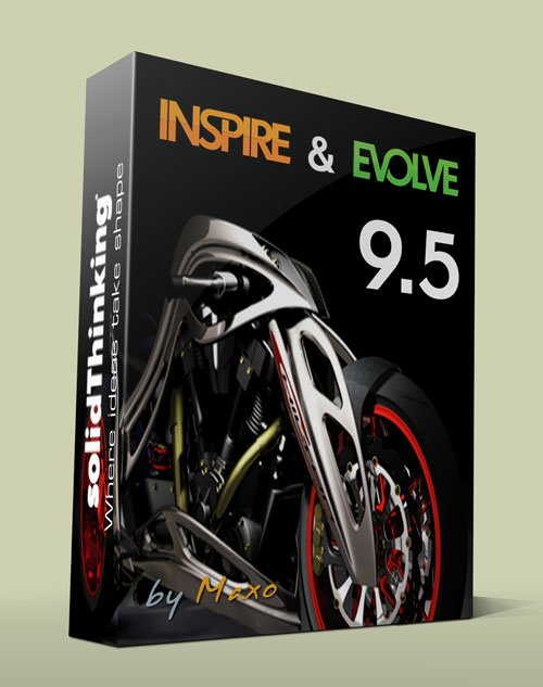 SolidThinking – EVOLVE & INSPIRE 9.5 – x32/64bit Win