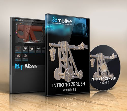 3DMotive : Introduction to ZBrush vol. 2
