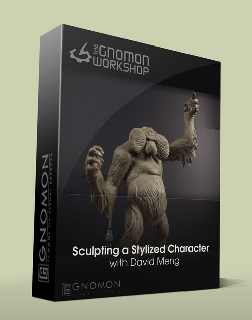 Sculpting a Stylized Character  with David Meng