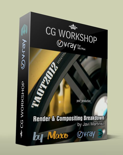 CG Workshop – Render & Compositing Breakdown with Javi Martinez