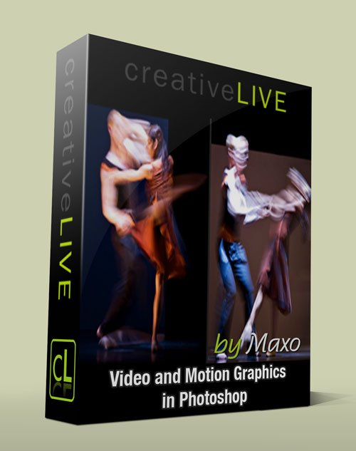 creativeLIVE: Video and Motion Graphics in Photoshop