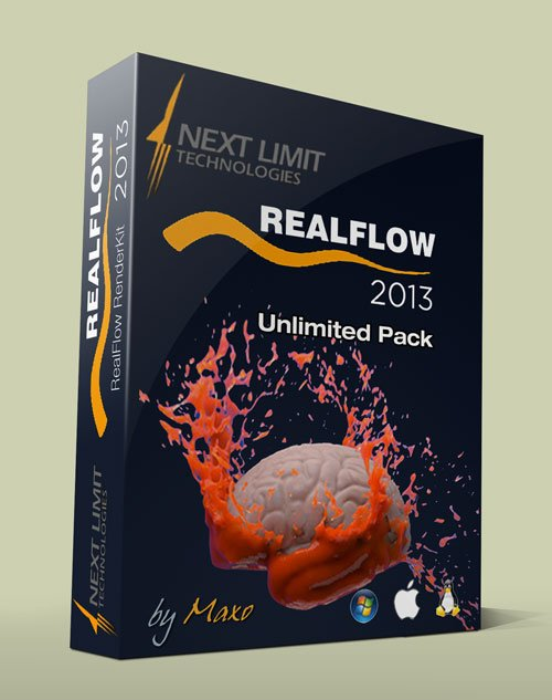 NextLimit RealFlow v2013 Unlimited Pack - Win/Mac/Linux