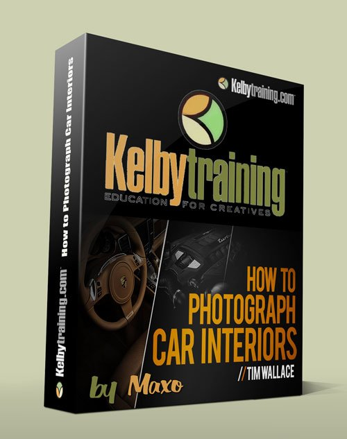 Kelby Training: How to Photograph Car Interiors