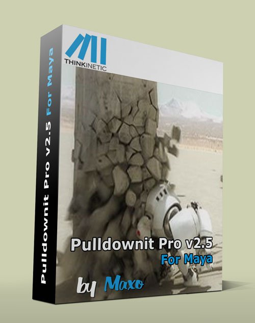 Thinkinetic Pulldownit Pro v2.5 For Maya 2011 – 2013 x64bit Win