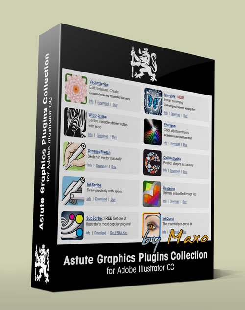 Astute Graphics Plugins Collection for Adobe Illustrator Win/Mac