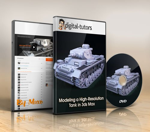 Digital - Tutors: Modeling a High-Resolution Tank in 3ds Max