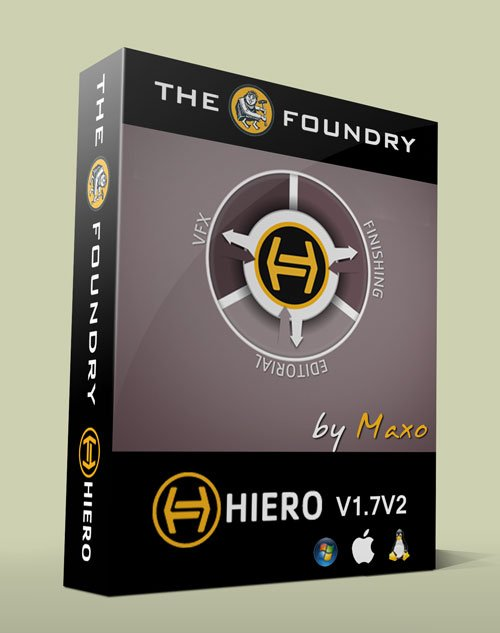 THE FOUNDRY HIERO V1.7V2 x32/64bit - Win/Mac/Linux