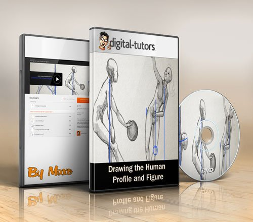 Digital - Tutors: Drawing the Human Profile and Figure