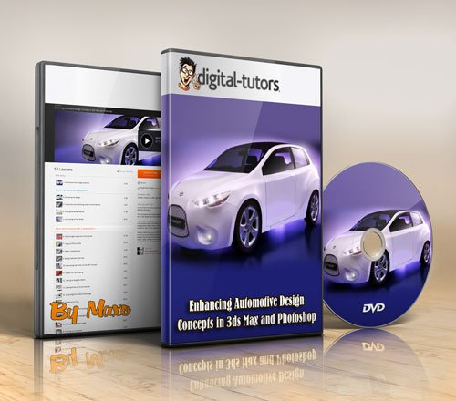 Digital - Tutors: Enhancing Automotive Design Concepts in 3ds Max and Photoshop