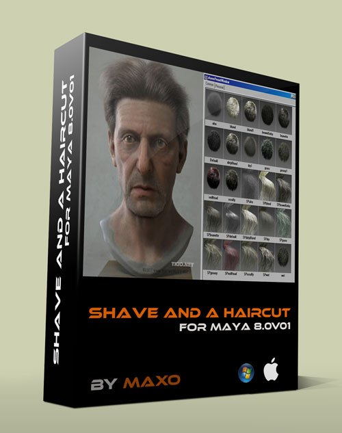 JoeAlter Shave & a Haircut 8.0v01 Maya 2012-2014 - Win/Mac