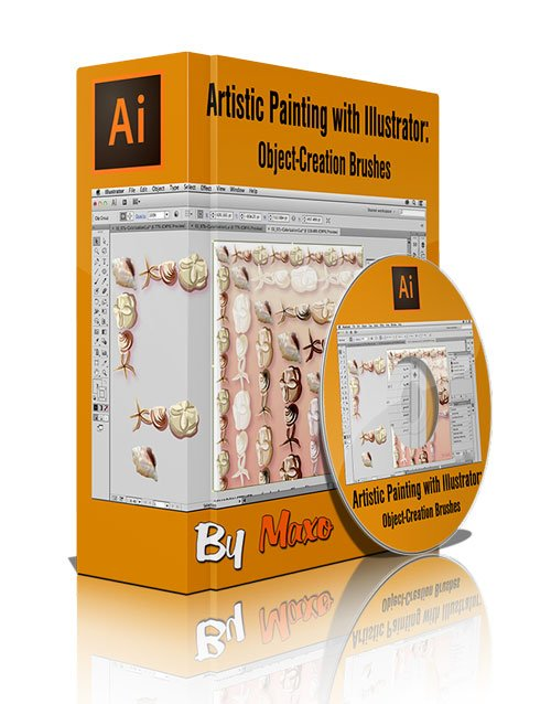 Artistic Painting with Illustrator: Object-Creation Brushes