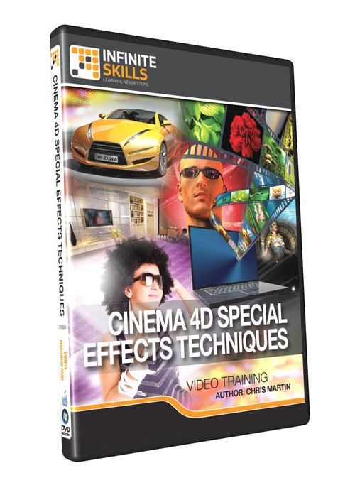 infiniteskills: Cinema 4D Special Effects Techniques Training Video
