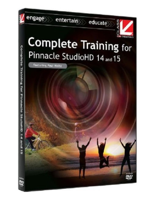 Class on Demand - Complete Training for Pinnacle Studio 14 & 15