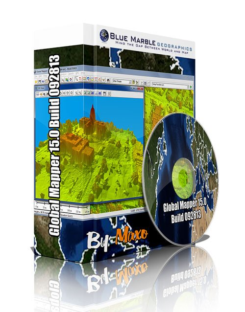 Global Mapper 15.0 Build 092813 x32/64bit Win