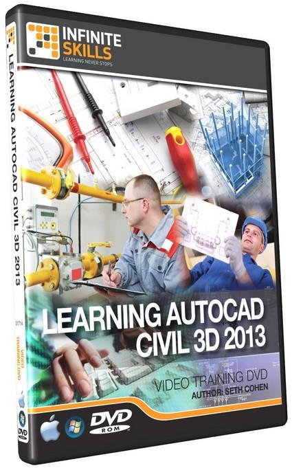 InfiniteSkills: Learning AutoCAD Civil 3D 2013 Training Video
