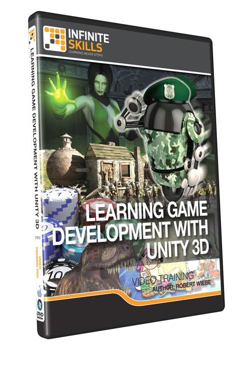Infiniteskills: Learning Game Development With Unity 3D Training Video