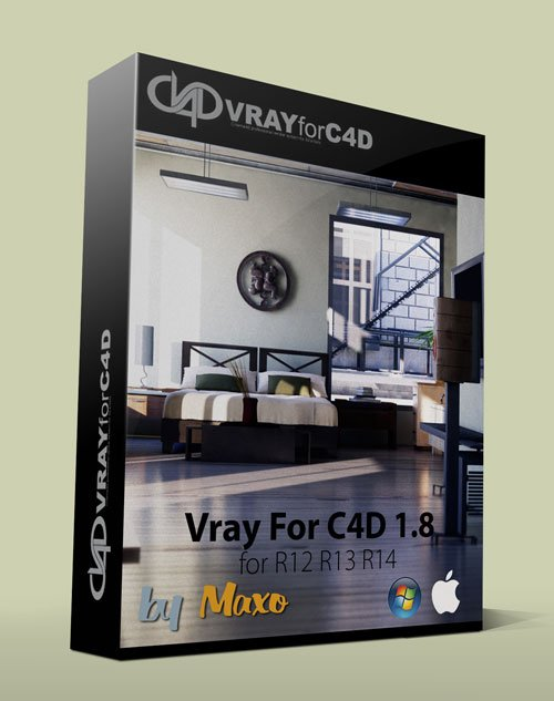 Vray For C4D v1.8 Win/Mac