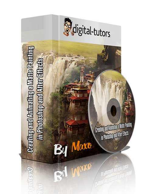 Digital - Tutors: Creating and Animating a Matte Painting in Photoshop and After Effects ( FULL )