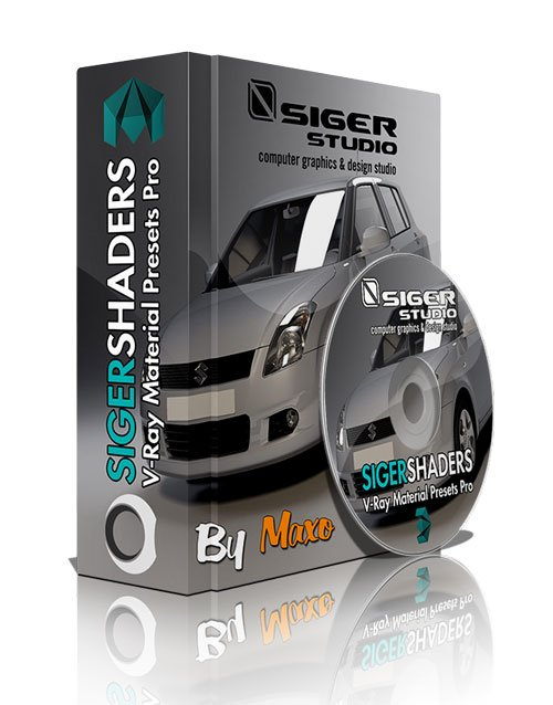 SIGERSHADERS V-Ray Material Presets Pro 2.6.3 For 3ds Max 2012 – 2014 – x64bit Win