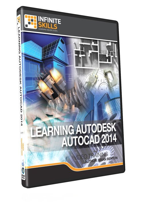 Infiniteskills: Learning Autodesk AutoCAD 2014 Training Video