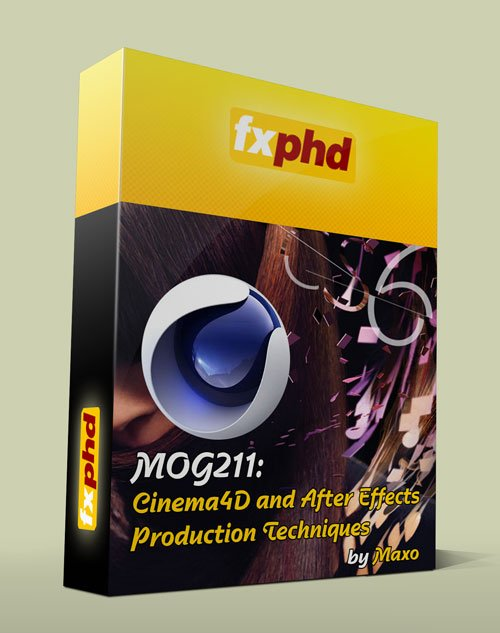 fxphd - MOG211: Cinema4D and After Effects Production Techniques