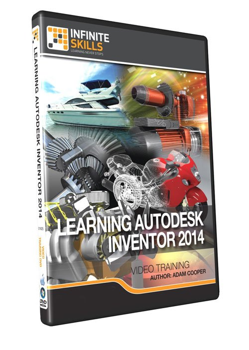 Infiniteskills: Learning Autodesk Inventor 2014 Training Video