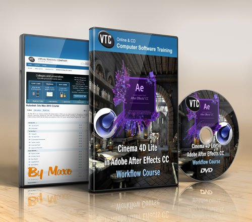 VTC: MasterClass! - Cinema 4D Lite in Adobe After Effects CC Workflow Course