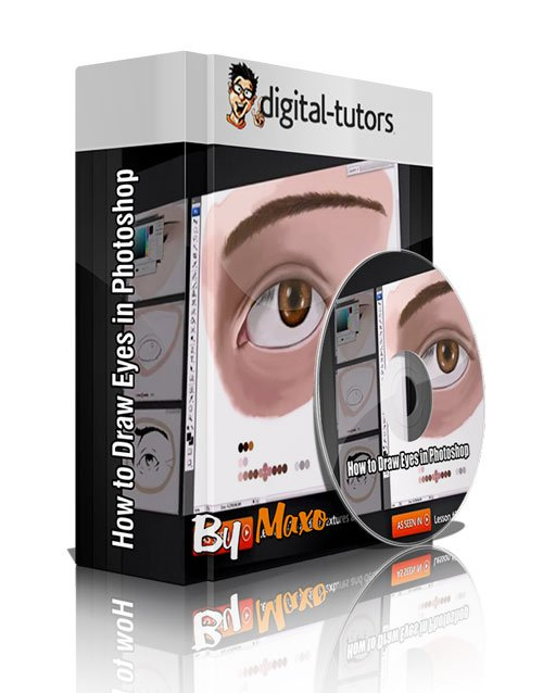 Digital - Tutors: How to Draw Eyes in Photoshop