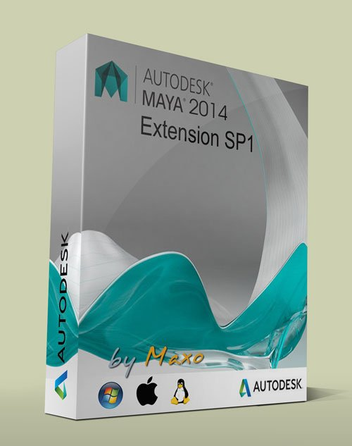 Autodesk Maya 2014 Extension SP1 Win/Mac/Linux
