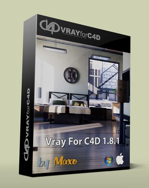 VRay For C4D v1.8.1.52  Win/Mac