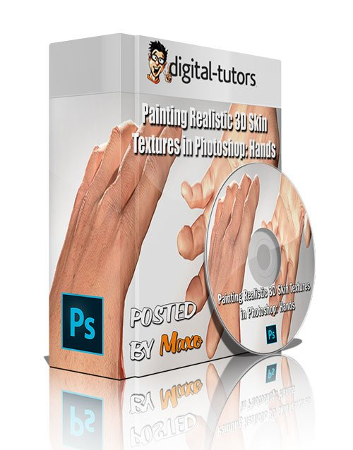 Digital - Tutors: Painting Realistic 3D Skin Textures in Photoshop: Hands