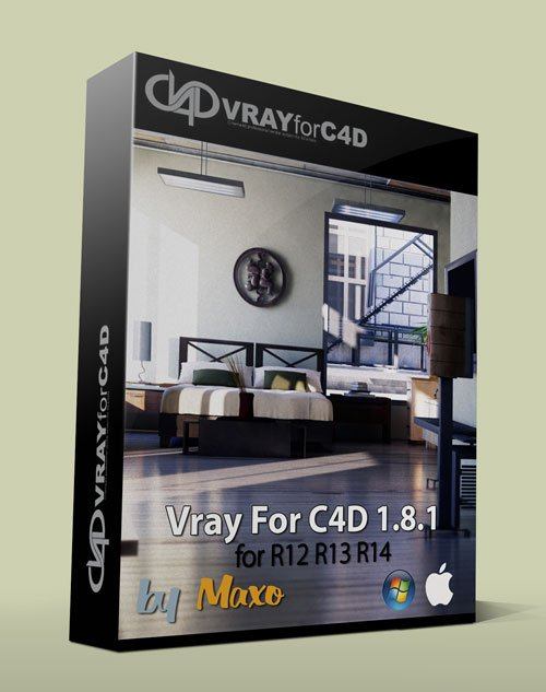 VRay For C4D v1.8.1.59  Win/Mac