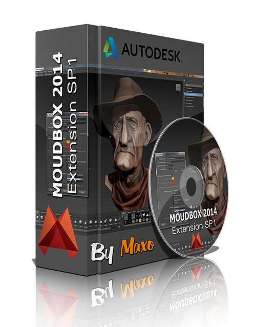 Autodesk Mudbox 2014 Extension SP1 Win/Mac/Linux