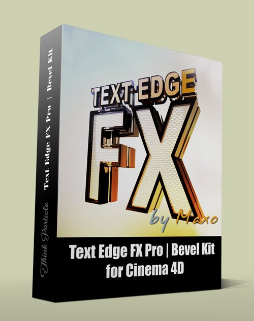 Text Edge FX Pro | Bevel Kit for Cinema 4D