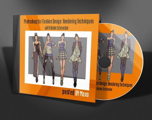 Photoshop for Fashion Design: Rendering Techniques with