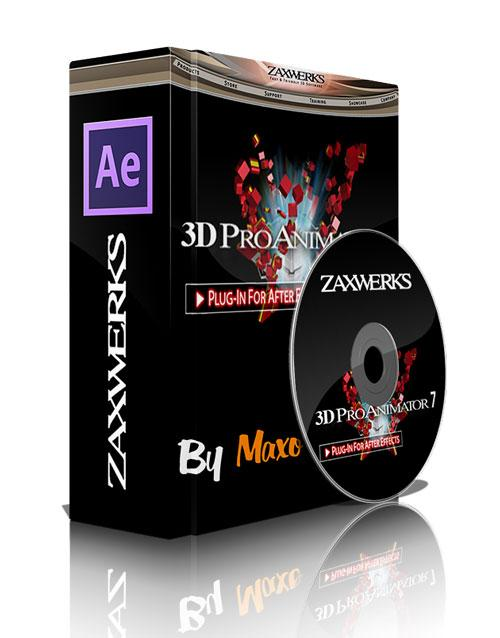 Zaxwerks Pro Animator v7.0.0 For AE x32/64bit Win