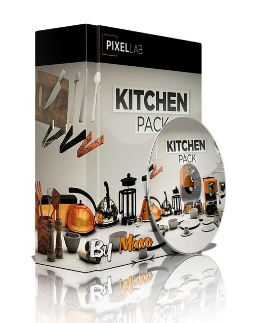 The Pixel Lab: kitchen Pack