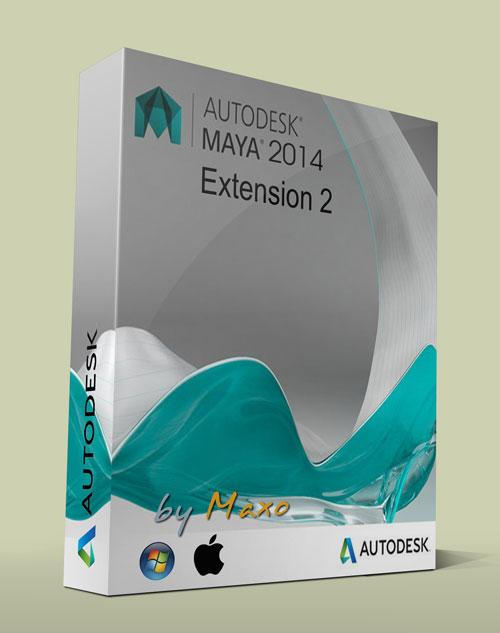 Autodesk Maya LT v2014 Extension 2 Win/Mac